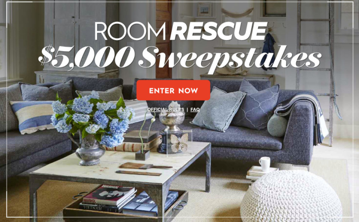 Bhg Room Rescue Sweepstakes Chance To Win 5000 Check Usa